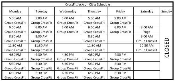 class-schedule