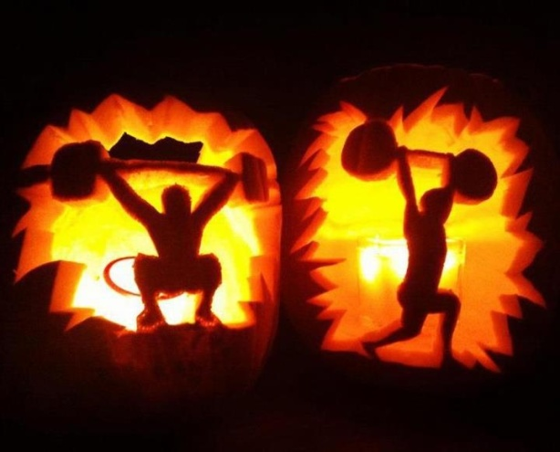 There's some creative pumpkin carvers out there!